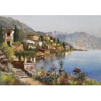 Картины по номерам 40 х 50 см. Остров в Италии.