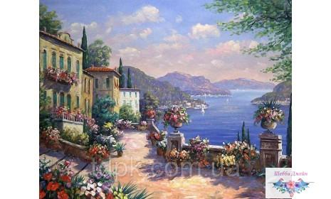 Картины по номерам 40 х 50 см. Итальянская набережная.