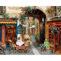Картины по номерам 40 х 50 см.Волшебный переулок
