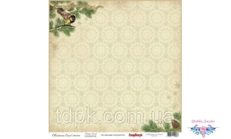 "Бумага ScrapBerry\""s Ночь перед Рождеством - Зимний лес 30,5x30,5 см, 1 шт"