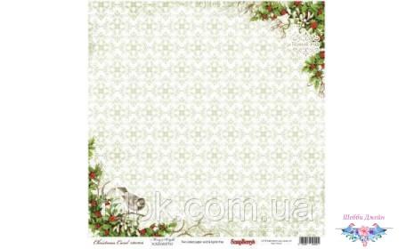 """Бумага ScrapBerry\""""s Ночь перед Рождеством - Гадание 30,5x30,5 см, 1 шт"""