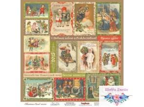 """Бумага ScrapBerry\""""s Ночь перед Рождеством - Волшебная история 30,5x30,5 см, 1 шт"""