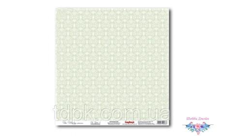"""Бумага ScrapBerry\""""s Свадебная - Нежно-зеленая 30,5x30,5 см, 1 шт"""