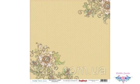 """Бумага ScrapBerry\""""s Сказка про фей - Таинственный лес 30,5x30,5 см, 1 шт"""