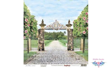 """Бумага ScrapBerry\""""s Цветущий сад - Прогулка в саду 30,5x30,5 см, 1 шт"""