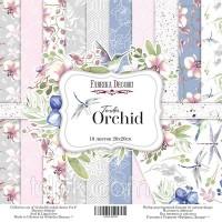 "Набор бумаги \""Tender orchid\"" 30,5 х 30,5 см. 10 листов"