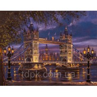 """Набор для вышивки бисером \""""Лондонский мост\"""""""