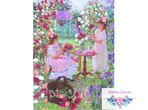 """Набор для вышивки лентами \""""Цветы для мамы\"""""""