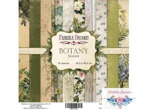 """Набор бумаги \""""Botany summer\"""" 30,5 х 30,5 см. 10 листов"""