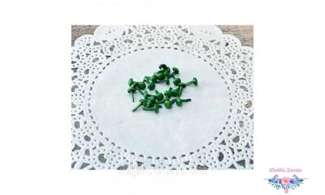 Набор зеленых брадсов 8 х 4,5 мм, 25 шт.