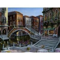 Картины по номерам 40 х 50 см. Утро в Венеции