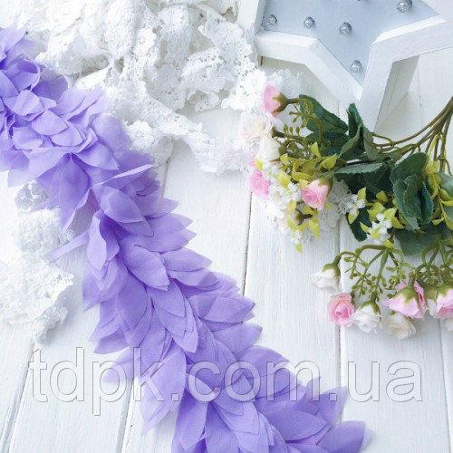 Шифоновые лепестки фиолетовые 20 см.