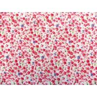 Отрез ткани розовые цветочки  50х48 см.