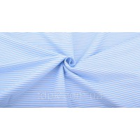 Отрез ткани голубая полоска 40 х 50 см.