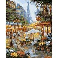 """Картины по номерам 40 х 50 см. \""""Весенние цветы Парижа\"""""""