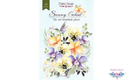 """Набор высечек \""""Sunny Orchid\"""" 49 шт."""