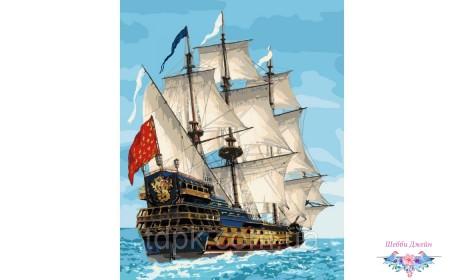 Картины по номерам Королевский флот 40 х 50 см.