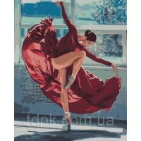 Картины по номерам Танец огня 40 х 50 см.