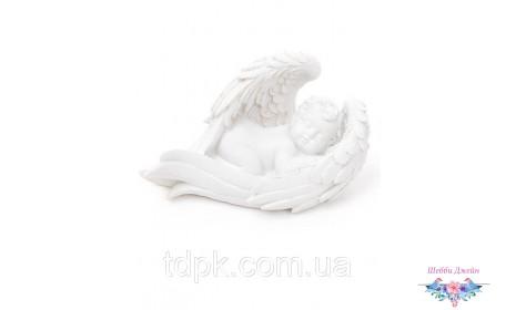 Декоративная статуэтка Спящий Ангелочек 15 см.