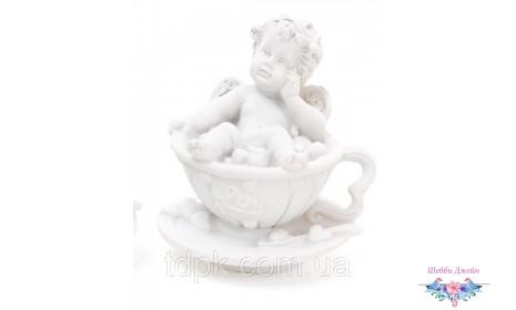 Декоративная статуэтка Ангел в чашечке 7 см.