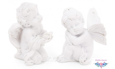 Декоративная статуэтка Ангел мальчик 7,5 см.