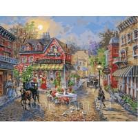 Картины по номерам  Старинный городок 40 х 50 см.