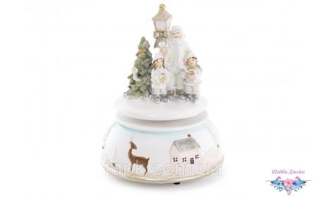 """Новогодняя музыкальная композиция \""""Санта с детками\"""""""