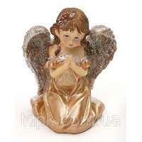 Декоративная статуэтка Ангел (золото)