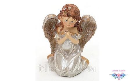 Декоративная статуэтка Ангел (серебро)