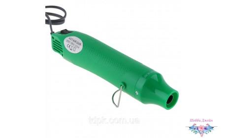 Электрический фен для эмбоссинга зеленый