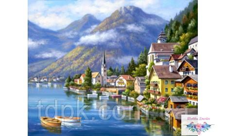 Картины по номерам 40 х 50 см. Австрийский пейзаж