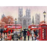 Картины по номерам 40 х 50 см. Утро в Лондоне.